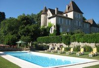 Chateau de Lamostonie Swimming Pool