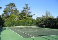 Chateau Lamostonie Tennis Court